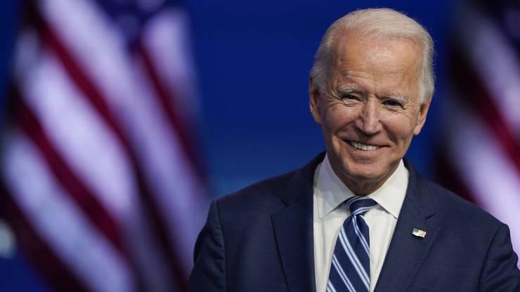 Joe Biden soll am 20. Januar vereidigt werden. Er ist der 46. Präsident der USA.