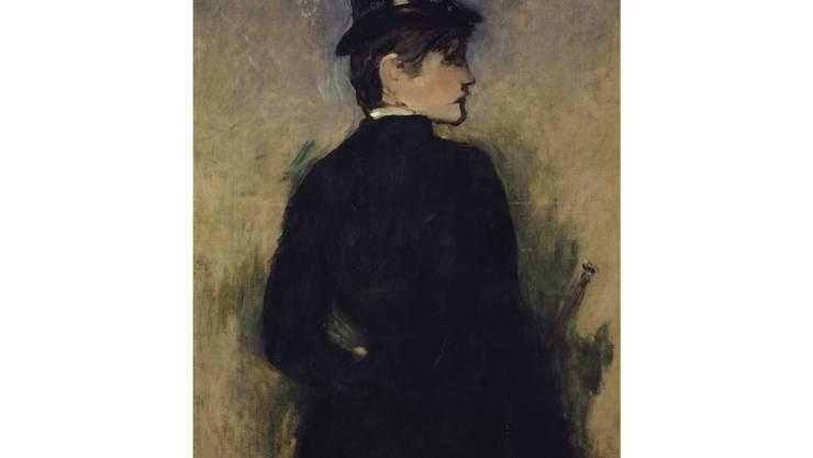 Edouard Manets «Amazone de profil» von 1882.