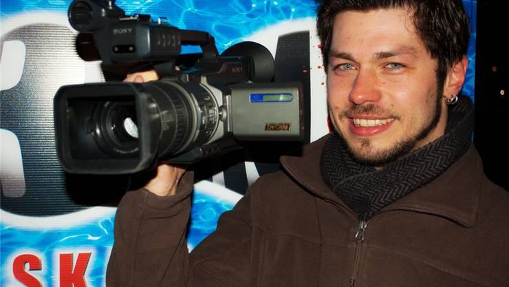 Markus Oschwald: Vom Musicaldarsteller zum Filmemacher. zvg