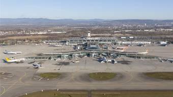 In den kommenden Jahren wird das Flughafengebäude ausgebaut. Wie, das will der Verwaltungsrat des Euro-Airports in diesem Jahr entscheiden.