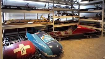 Die Schlitten des geschlossenen Sportmuseums sind nicht die ersten Gegenstände, die gezügelt werden. (Archivbild)