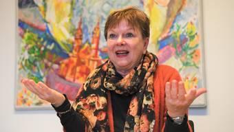 Für Comité-Obfrau Pia Inberbitzin war klar, dass es auch ohne die Fasnacht im kommenden Jahr eine Plakette geben soll.