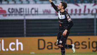 Alexander Gerndt traf zum 2:0, bevor er mit Gelb-Rot vom Platz flog