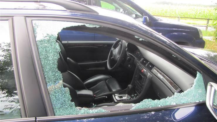 Geknackte Autos, zertrümmerte Scheiben: Die Anzahl Fahrzeugaufbrüche haben sich im Vergleich zum Vorjahr beinahe verdoppelt. (Symbolbild)