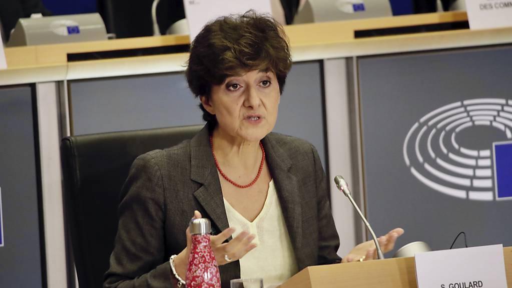 Die französische EU-Kommissarsanwärterin Sylvie Goulard ist vom EU-Parlament am Donnerstag in Brüssel abgelehnt worden.