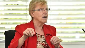Johanna Bartholdi berichtet von ihrer Arbeit als Gemeindepräsidentin im Corona-Modus.