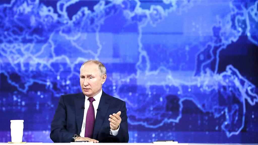 Putin hält USA und Grossbritannien «Provokation» vor