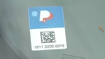 Die Aargauer «Parking-Card».