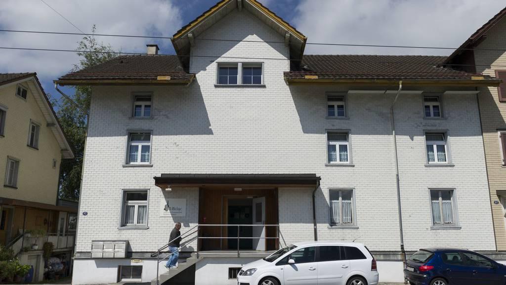 In dieser Moschee in St.Gallen Winkeln fand im August 2014 ein brutaler Mord statt. Der Täter wurde zu 16 Jahre Freiheitsentzug verurteilt.