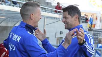 FC Baden-Trainer Gabor Gerstenmaier konnte erneut keinen Sieg bejubeln.