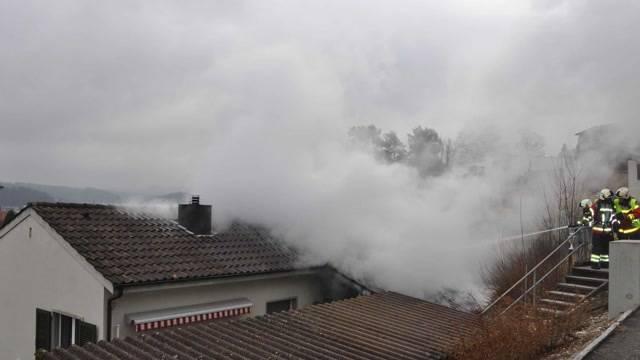 Niedergösgen: Brand wegen defektem Kabel