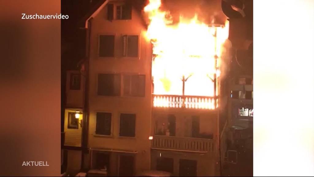 Willisau: Denkmalgeschütztes Gebäude fast komplett niedergebrannt