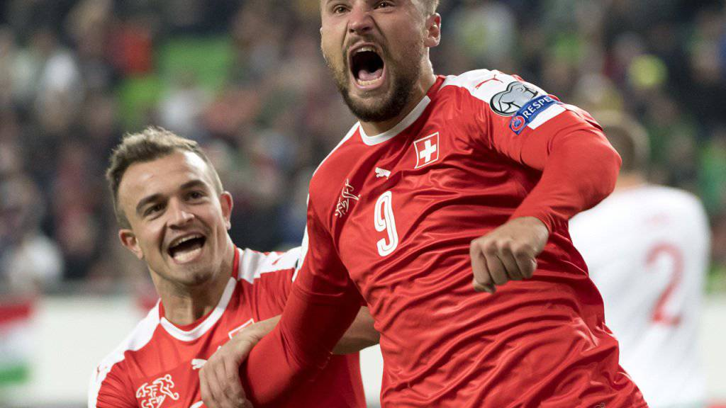 Das wollen die Schweizer Fans am Samstag sehen: Einen jubelnden Haris Seferovic