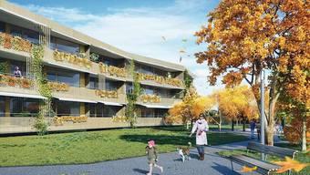 2014 könnten die Wohnungen des Rheinfels-Parks bezogen werden.