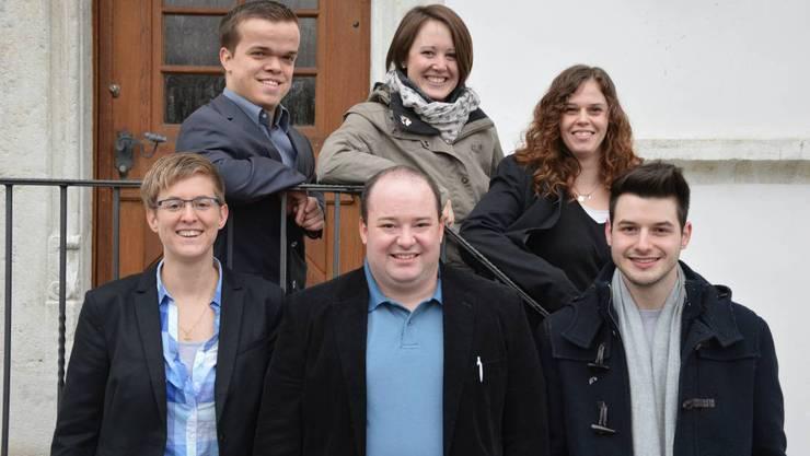 Oben von links: Felix Möckli, Olten; Nadine Eichmann, Hochwald; Marina Raimann, Lostorf. Unten von links: Andrea Studer, Neuendorf; Ronny Raimann, Olten und Raphael Wyss, Starrkirch-Wil. Es fehlt: Sven Köpfer, Olten.