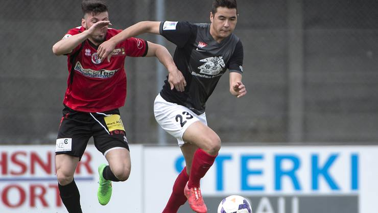 Der FC Solothurn startet gegen den FC Münisngen.