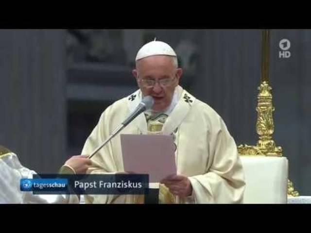 Papst spricht von Armenier-Genozid