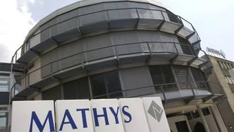 Das Gebäuder der Mathys AG in Bettlach