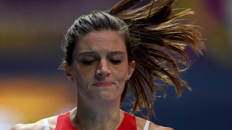 Lea Sprunger konnte sich ihren schwachen Auftritt nicht erklären (Archivbild)