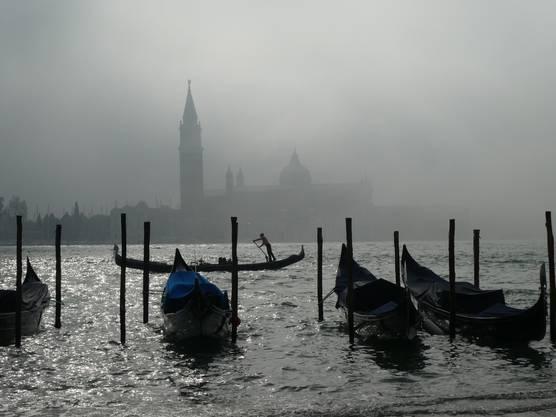 Mystische Novemberstimmung in Venedig