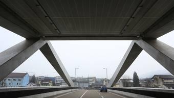 Ein ganz neuer Blick auf Olten Ost. Tunnelausfahrt vor dem Sälikreisel