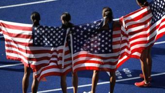 Die US-Leichtathletinnen und -Athleten führen die Geldrangliste an