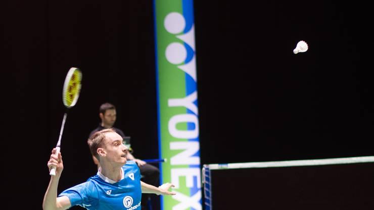 Unverhofftes Heimspiel: Tobias Künzi an der Badminton-WM in Basel