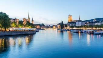 Vergoldete Kirchen? Das Grossmünster ist ein Wahrzeichen des zwinglianischen Zürichs.