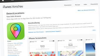 Die App sieht harmlos aus, und demonstriert eine gefährliche Schwachstelle.