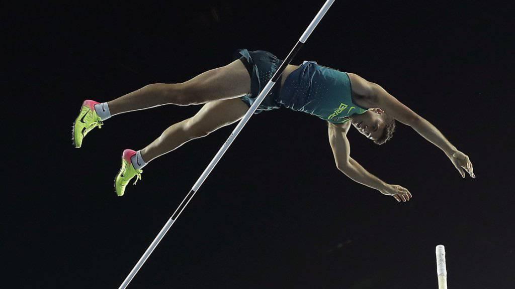 Thiago Braz da Silva sorgte im Olympiastadion in Rio für eine Sensation