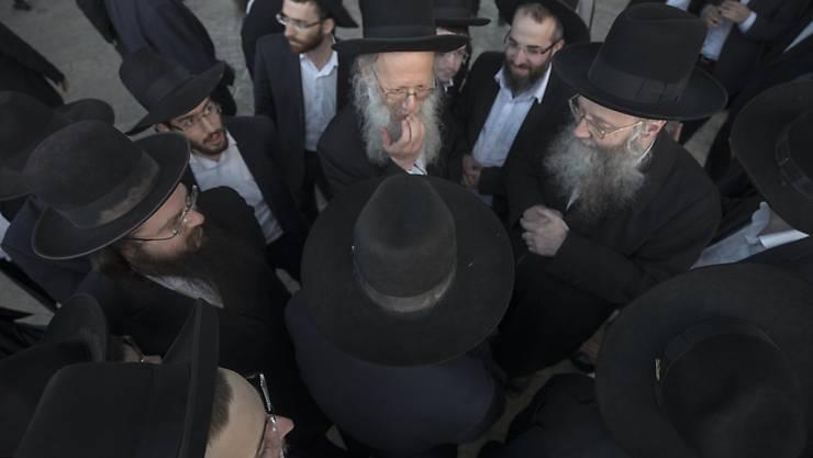 Die strengreligiösen Juden in Israel sind gegen die Wehrpflicht. (Archiv)