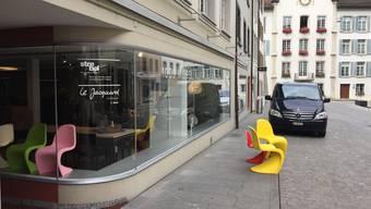 Im Stadtbüro liegt bis zum 26. Februar das Baugesuch für das ehemalige Möbelhaus Strebel an der Rathausgasse öffentlich auf.