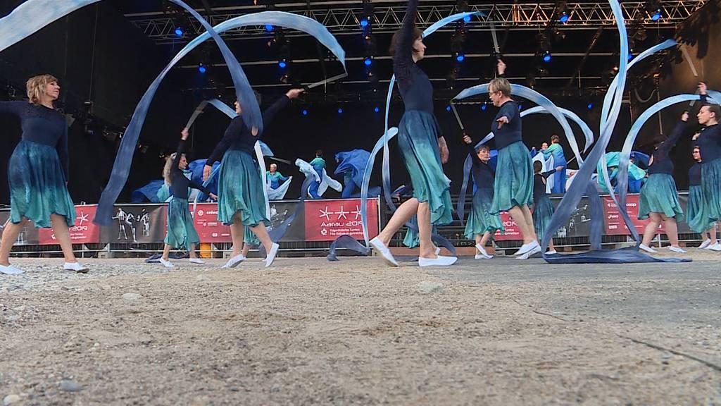 Traumstart für Eidgenössisches Turnfest in Aarau