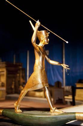 Statuette von Pharao Tutanchamun