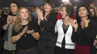 Die Frauen stehen im Grünen Bündnis vorne: Elisabeth Ackermann, Raffaela Hanauer, Mirjam Ballmer, Heidi Mück und Sibel Arslan. GEORGIOS KEFALAS/Keystone