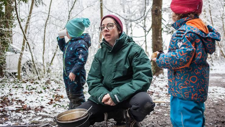 «Ich wollte raus aus dem Büro, zurück zu den Wurzeln»: Sabina Hirt hat sich zur Pädagogin ausbilden lassen.
