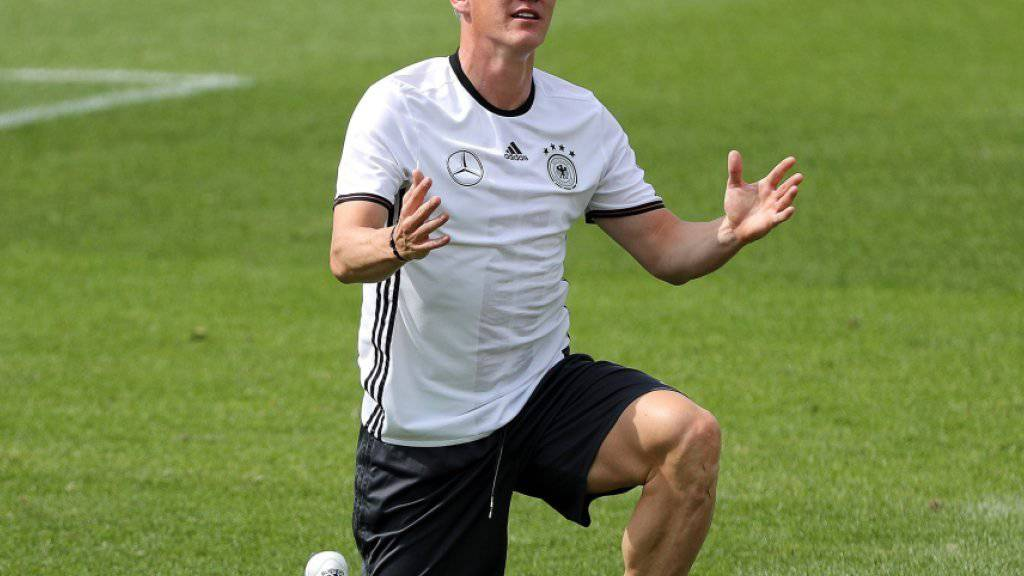 Muss sich noch gedulden: Deutschlands Captain Bastian Schweinsteiger