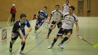 Unihockey Aargau United darf gegen die Zürcher Hoppers ran.