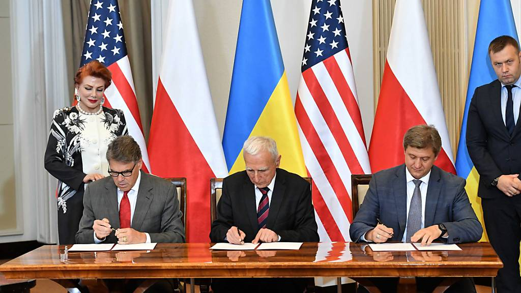 Selenskyj nennt Nord Stream 2 «Bedrohung» für Europa