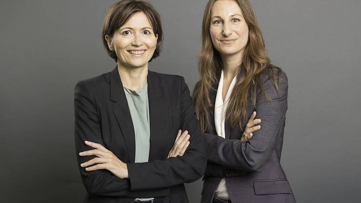 Bald kein Co-Präsidium mehr bei den Grünen: Adèle Thorens (rechts) wird sich nicht zur Wiederwahl stellen, Regula Rytz schon. (Archivbild)