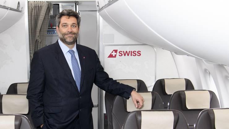 Lorenzo Stoll, Leiter des Swiss-Geschäfts in Genf.