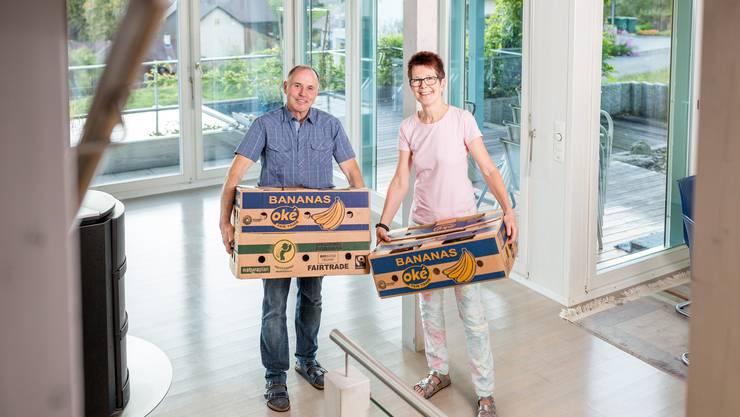 Theres und Klaus Kalt ziehen nach 22 Jahren aus Mönthal weg und machen ihren langgehegten Wunsch wahr: Das Ehepaar hat sich eine Wohnung in Alpthal-Brunni bei Einsiedeln gekauft und zieht mitten ins Wander- und Skigebiet.