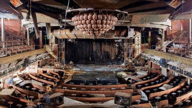 Zwei Jahre unter Wasser So sieht der Konzertsaal der Costa Concordia heute aus