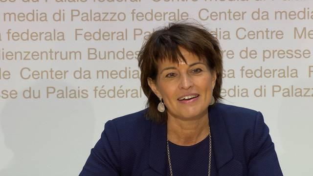 Doris Leuthard als Verwaltungsratsmitglied bei Coop vorgeschlagen