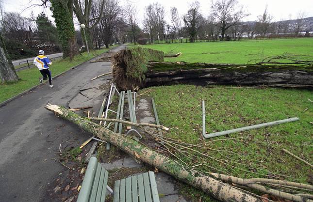 Der Sturm hat einen geschätzten Versicherungsschaden (Swiss Re) von über 6 Milliarden US-Dollar verursacht.