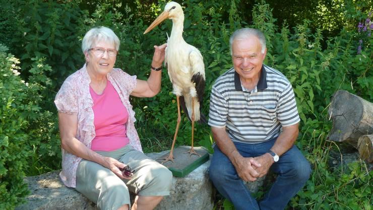 Kurt und Rosemarie Lätt sind «Altriger» und leben seit 35 Jahren im Storchendorf.