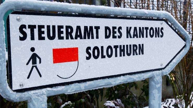 Besteuert auch Familien mit tiefem Einkommen mit einer Kopfsteuer: Der Kanton Solothurn.