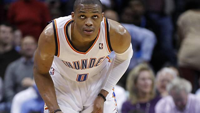 Oklahomas bester Skorer gegen Cleveland: Russell Westbrook
