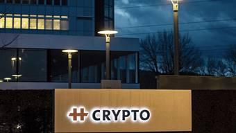 Ehemaliger Hauptsitz der Crypto AG in Steinhausen.