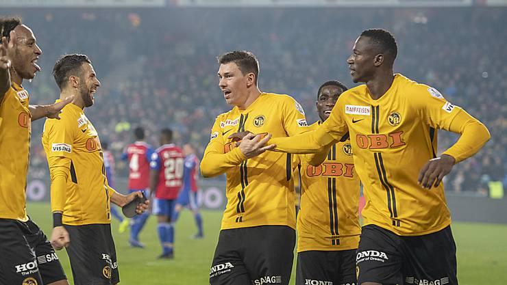 Die Young Boys sind in dieser Saison nicht zu stoppen und führen die Tabelle nach dem Sieg in Basel mit 18 Punkten Vorsprung an